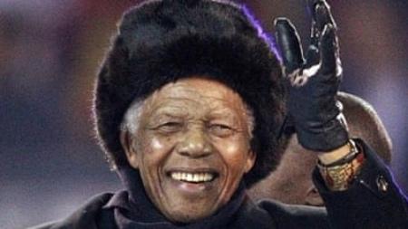 zuid afrika nelson Mandela opening olympische spelen 2010