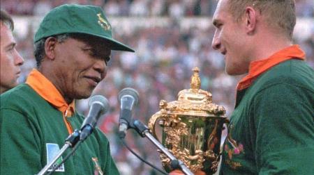 zuid afrika nelson Mandela rugby springboks Francois Pienaar Atuu travel