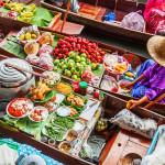 thailand Bangkok drijvende markt damnoen saduak atuu travel rondreis zie